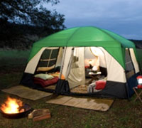 Camping Tent Hire